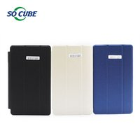 Wholesale 8inch Tablet Case Stand - Wholesale- For Cube u27gt super u33gt Leather Case Special Stand Flip Case Cover For Cube U27GT Super U33GT 8Inch Tablet PC