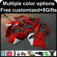 Wholesale Kawasaki Ninja Zx9r Kits - 23colors+8Gifts red kit motorcycle cowl for Kawasaki ZX-9R 2000-2001 00 01 ZX 9R 2000 2001 00-01 ABS Plastic Fairing