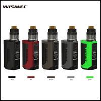 Wholesale Electonic Cigarettes - Authentic Wismec Reuleaux RX GEN3 Kit with 300w TC RX GEN 3 Box Mod GNOME Tank in WM02 WM03 Coils Electonic Cigarettes vs T Priv G Priv Kits