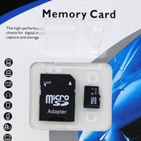 Microsd 32gb Al Por Mayor Baratos-Venta al por mayor MicroSD Micro SDHC TF Flash Class 10 2- 32GB Adaptador SD de tarjeta de memoria