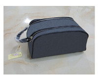 Wholesale High End Cosmetics - High-end quality men travelling toilet bag fashion design women wash bag large capacity cosmetic bags makeup toiletry bag Pouch