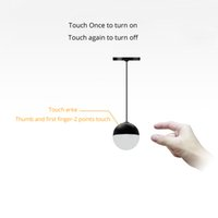 Wholesale Usb Power Switch Control - Pendant Mini Lamp Night Lamp USB Powered White Light Touch Control Switch Wholesale Fast Free DHL Shipping