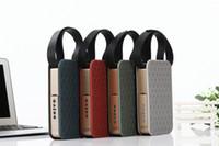 Wholesale remote controlled loudspeakers resale online - JKR Wireless Bluetooth Speaker Mini Loudspeaker Remote Control FM TF Card AUX in NFC for iphone Samsung PC