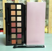 Wholesale Eye Shadows High Quality - Highest quality! HOT Renaissance Pink Eye Shadow Palette 14 Colors Limited Eyeshadow Kit With Brush DHL Free Shipping