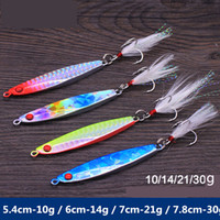 Wholesale Deep Diving Lures - 2017 Deep Diving IMA rion Jigs metal bait 5colors 4sizes bright color 3D eye High reflective Fishing Lures