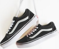 Wholesale Vs Lace - size 35-44 Old Skool Suede VS Canvas shoes Unisex Shoes for men and women Athletic Outdoor Sneakers Sneakers Training Shoes