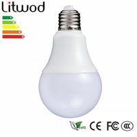 Hot selling Litwod LED Lamp E27 220 V-240V Gloeilamp Smart IC Real Power 3 -12 W Hoge Helderheid LED Ball bulb cool white & warm white