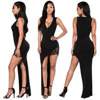 Wholesale Cheap Cross Stitching - Cheap fashion Lace stitching dress LYQ245