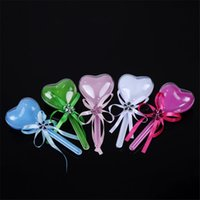 Wholesale Baby Shower Lollipops - 240PCS LOT Baby Birthday Candy Box Baby Shower Wedding Event Party Supplies Lovely Lollipop Candy Bag for Guest Wedding Decor