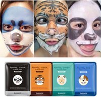 BIOAQUA Tiger Panda Sheep Dog Shape Animal Face Mask Hidratante Oil Control Hidratante Nourishing Facial Masks