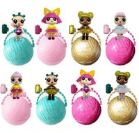 Wholesale Dress For Girl Doll - LOL Surprise Dolls Ball Lil Sisters Dress up Toys Surprise Fancy Eggs For Girls
