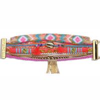 Wholesale Onyx Bangle Bracelet - Hipanema Bracelets for women new fashion Free shipping Handmade wrap bangles weave bracelet Jewelry hot winter HIP079