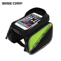 Wholesale BASECAMP MTB Bicycle Saddle Bag Phone Handlebar Red Cycling Bike Touch Screen Beam Packet Bycicle Accessories Bisiklet Aksesuar
