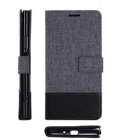Wholesale xperia flip covers online – custom Leather Case For Sony XA1 Xperia XA Ultra Wallet Cover Flip Case Phone Bags Silicone Card Slots Stand Phone Case