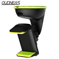 Wholesale Car Dvr Windshield - Wholesale-Universal Clip Mobile Phone Holder Car Windshield Mount Holders & Stands for 3.5-6.0 Inch Car DVR GPS Frame Cell Phone Cradle