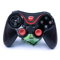 Wholesale Android X3 - T3 Bluetooth Gamepad Joystick Wireless Game Pad Joypad Gaming Controller Remote Control For Samsung S8 Android Phone Smart TV Box PC C8 X3