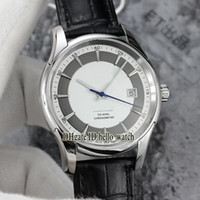 Wholesale Hour Vision - Super Clone Brand Luxury Hour Vision Co-Axial 8500 Automatic White Dial 431.33.41.21.02.001 Men's Watch Leather Strap Cheap Watches AAAAA+