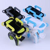 porta-telemóveis para bicicletas venda por atacado-O telefone móvel monta suportes dos suportes Bikes Mobile Brackets Mountain Bikes suportes móveis exigidos 4 da correia 1457