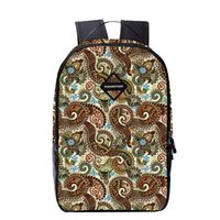 Wholesale Cheap School Girl Free Shipping - wholesale cheap school bag rucksack bags mens geometrical unique cool style Polyester backpack Ethical Amorous Feelings bags free shipping
