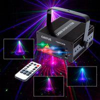 ingrosso luci blu del partito del laser-Proiettore per DJ Laser Full Color 96 RGB o 48 RG Patterns Proiettore 3W Blue LED Stage Effect Lighting per luce natalizia