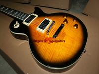 Wholesale Guitar Custom Shop Electric Style - Custom Shop one piece neck fret bingding sl ash Electric guitar New Style Free Shipping