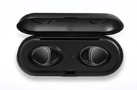 Wholesale apple storage - New Fashion SM-R150 Wireless Bluetooth headphones TWS sports waterproof mini bluetooth headsets with charge   storage box