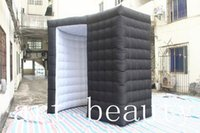Wholesale Photo Booth Tent - Free shipping 2.5m*2.5m*2.5m cheap inflatable photo booth inflatable 3D photo booth for advertising
