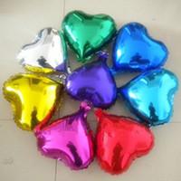 ingrosso palloncini di colore oro-Palloncini a elio da 10 pollici con palloncino per la decorazione di fidanzamento nuziale di San Valentino ripetutamente utilizzati 10 colori C156Q