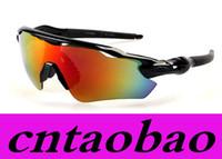Wholesale Design Sun Glasses - Cylcing Fishing Sunglasses 10 colors 9208 New Fashion Design RADAR EV For Men or Women sports eyewear mirror sun glasses oculos de sol UV400