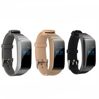 Wholesale talk band - Smart Band Talkband Bluetooth Smart Bracelet DF22 Portable Talk Smartband Pedometer Active Fitness Tracker For IOS Android Phone
