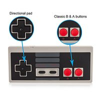 Wholesale nes mini controller resale online - 2017 hot Wireless USB Plug and Play Gaming Controller Gamepad for Nintendo for NES Mini Buttons Classic Edition With Wrireless Receiver