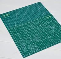 stabpolstermatte großhandel-Hot Bar PVC Schneidematte A4 Durable selbstheilende Cut Pad Patchwork Sewing Tools Handmade Diy Zubehör Schneidplatte Dunkelgrün 22 x 30 cm