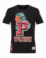 Wholesale Drill Shirts - New Arrival 2017 Brand design Hot drilling printing men T Shirt fashion Hip Hop T-shirt Men 18216
