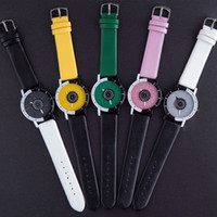 Wholesale Korean Female Bangs - Korean Style Couples Big Bang Watches Fashion Trendy Star Sky Big Dial Belt Middle School Students Male and Female Aaa Watch