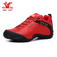 Wholesale Hot Sale XIANGGUAN Women Outdoor Hiking Shoes Waterproof Ladies Climbing Top Quality Sneakers Cushion Eur