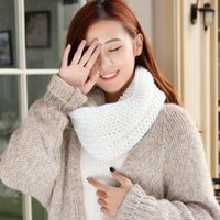 2017 Autumn -Winter Wholesale- Warm Fleece Wides Plaid Wrap Scarf Shawl Wool Blend Scarves Lady