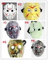 masken-killer-film großhandel-Archaistic Jason Mask Vollgesichtsmaske Antique Killer Mask Jason vs Freitag der 13. Prop Horror Hockey Halloween Kostüm Cosplay Maske auf Lager