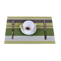 Wholesale Hot Pad Placemats - Wholesale- 4pcs Lot Christmas Placemats, PVC Placemat Bar Mat, Kitchen Accessories, 30 * 45cm Plate Mat, Table Mat Set, Kitchen Hot Pads #1