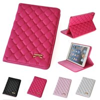 Wholesale Ipad Air Smart Cover Colors - PU Leather Sleep Wake Smart Case Stand Cover for iPad mini 1 2 3 iPad 2 3 4 Air 1 2 4 Colors