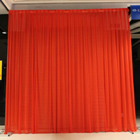 Wholesale draping backdrops for sale - Background Drape Wall Valane Backcloth For Festival Celebration Wedding Stage Performance Backdrop Practical Silk Cloth Curtain by2 KK