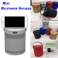 Wholesale Mobile Phone Horn - 106 Wireless Bluetooth Speaker Big Horn Subwoofer Speaker Used Mobile Phone Bracket Card Outdoor Bluetooth Speakers For iphone samsung