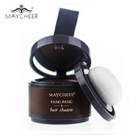 Vente en gros - Maycheer Bronzer Highlighte en poudre 4g peut être utilisé pour Hair Line Shadow Powder Eyebrow Powder Make Up with Mirror Puff