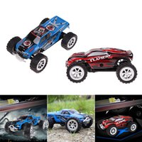 Wholesale Super Speed Rc - Wholesale- Kids Cars Baby toys RC Truck Model Super WLtoys A999 1 24 25KM H Proportional Speed gifts High quality remote control Amazing