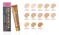 Wholesale Easy Skin - 13 Colors Dermacol Base Make up Cover 30g Primer Concealer Base Professional Face Dermacol Makeup Skin Covering Foundation Contour Palette