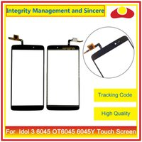 """Wholesale Alcatel Digitizer - High Quality 5.5"""" For Alcatel One Touch Idol 3 6045 OT6045 Touch Screen Digitizer Outer Glass Lens Panel Black"""