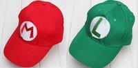 ingrosso miglior anime cosplay-Super Mario Bro Anime Mario Cap Cosplay Nuovo miglior regalo super mario cappello 100% cotone