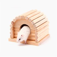 Wholesale Hamster Pets - Cute Small Animal pet Rabbit Hamster house bed rat squirrel Guinea Pig winter warm hanging House cage Nest Hamster accessory 0704115