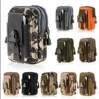 Wholesale Bag Molle Waterproof - Large Capacity Outdoor Sports Tactical Molle Pouch Waterproof Nylon Belt Waist Pack Bag Pocket Iphone Camping Hiking Running Pouch Wallet