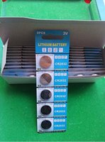 Wholesale Lr44 Lithium - Super CR2032 3v lithium button cell battery LR44 0%Hg 1.5v Button cells FedEx UPS free shipping