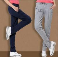 Wholesale Cargo Ship Sizes - Free shipping women sweatpants 2017 summer autumn harem pants casual pants loose thin large size womens pants